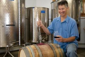 Hermit Woods Wine Maker, Ken Hardcastle