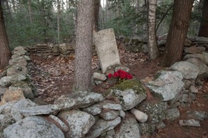 The Hermit of Meredith's Grave site