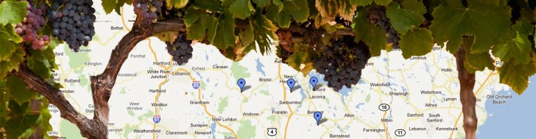 New Hampshire Wine Map