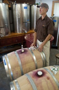 Ken Hardcastle, Wine Maker, Hermit Woods Winery