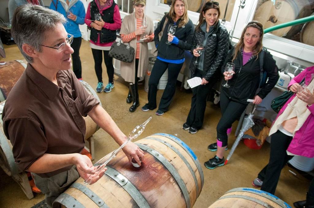 Barrel Tasting 2014