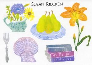 Susan Riecken, Stamp Art