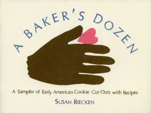 Book of Early American cookie cutters by Susan Riecken