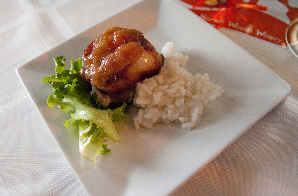 Pan Seared Diver Scallop w/ Basmati Rice