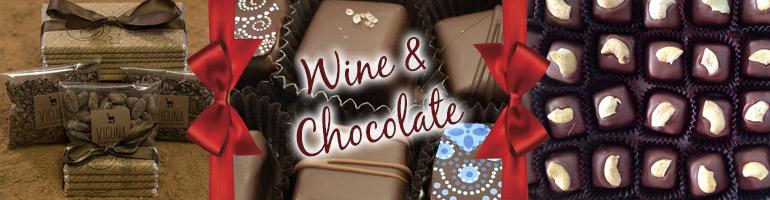 Wine and Chocolate Header